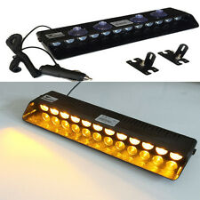 12LED Amber Emergency Warning Traffic Advisor Vehicle Strobe LED Flashing  Light