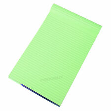 Visual Memory Aid A4 Green 100 Page Paper Notepad Refill Memo Lined Writing Pad