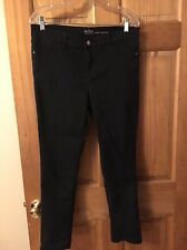 New York And Company Black Ankle Legging Jeans Size 12