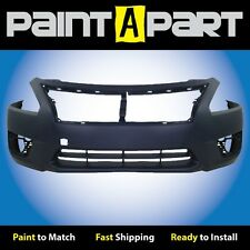 Fits: 2013 2014 Nissan Altima Sedan Front Bumper Cover (NI1000285) Painted