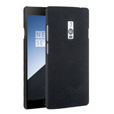 Hard Shell Slim Sandstone Back Cover Case For Oneplus TWO 2  1+screen protector