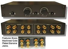 Speaker Selector Switch Volume Control accepts 12 gauge wire 2 amplifiers 200W