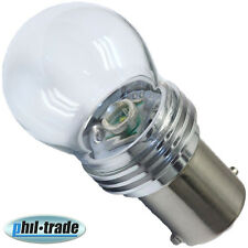 high power CREE SMD-LED BA15S 6000K kalt-weiss Typ '9W' 12V P21W Innenraum Lampe
