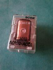 Relay V23012-A0102-A001 9 pins SIEMENS transparent NOS