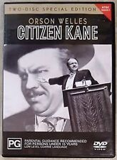 Citizen Kane Orson Wells Two-Disc Special Edition NTSC Region 4 VGC