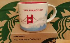 Starbucks Coffee Mug/Tasse/Becher SAN FRANCISCO, yah, NEU m.Sticker i.OVP-Box!!!