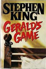 Stephen King's Geralds Game, Hardcover w/ Dustjacket
