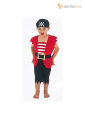Boys Toddler Pirate Fancy Dress Up Costume  Book Week Outfit Child Kids 2-3 Year