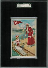 SGC 3.5 1903 Tetlow HARVARD ROWING College Girl Series The Highest One Graded