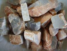 1 lb Moonstone Rough Cabbing / Tumbling Rough Mixed Color From India