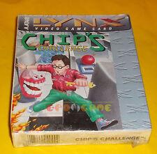 CHIP'S CHALLENGE Atari Lynx CHIPS Versione Americana ○○○○○ NUOVO SIGILLATO