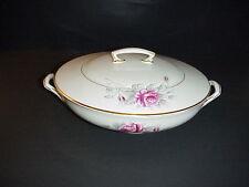 Royal Worcester Z2261 Rose Vegetable Bowl Antique 1900s Signed SEDGLEY Reduced