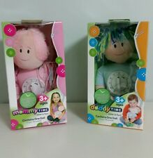 BRAND NEW -  2 × Woombie Time in Doll Baby Toy, Daddy Time & Mommy Time