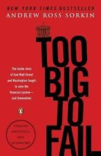 Too Big to Fail : The Inside Story of How Wall Street and Wash (FREE 2DAY SHIP)