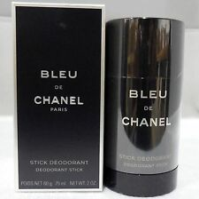 CHANEL BLEU DE CHANEL Deodorant Stick 2 oz / 75 ML MEN * Sealed