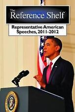 Reference Shelf: Representative American Speeches, 2011-2012-ExLibrary
