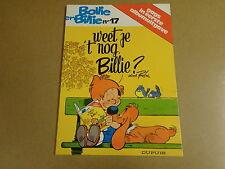 STRIP 1° DRUK / GAGS VAN BOLLIE EN BILLIE N° 17