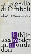 William Shakespeare LA TRAGEDIA DI CIMBELINO