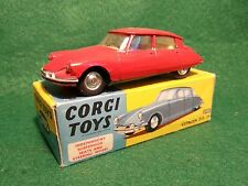 Corgi toys 210 S   Citroen DS 19 Mint condition and boxed LISTING ENDS 26/2/17