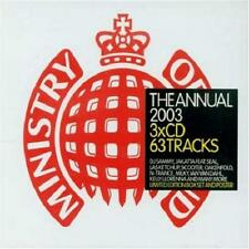 MINISTRY = annual 2003 = Dahl/Sammy/Jakatta/Scooter/Milky..=3CD= groovesDELUXE!!