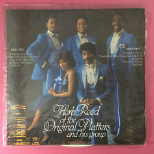 Herb Reed of the Original Platters & His Group - Signed - Rare White Vinyl LP