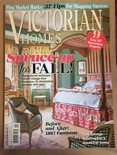 Victorian Homes Spruce Up For Fall Before & After Farmhouse 2015 FREE SHIPPING!