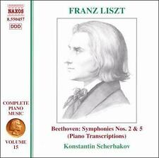 Liszt: Beethoven Symphony 2 & 5 (Piano Transcriptions), New Music