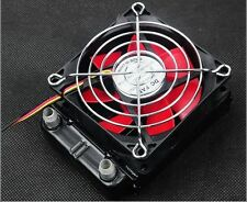 Aluminum Water Cooling Block Water cooled Row Heat Exchanger With Fan for PC