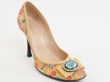 New Vivien Lee  Multi-Color Made in Italy Shoes Size 38 US 8