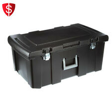 Storage Footlocker Trunk Container Organizer Case Compartment Portable Travel