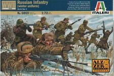 ITALERI 6069 1/72 Infanteire Russe « Hiver » - Russian Infantry Winter WWII