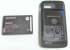 New OEM Motorola Atrix 2 MB865 Extended Back Cover Door & Battery BW8X SNN5897A
