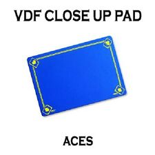 VDF BLUE Printed with Aces Magicians Matt Pad Mat card close up Magic trick