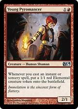 YOUNG PYROMANCER M14 Magic 2014 MTG Red Creature—Human Shaman Unc Elemental