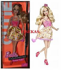 Barbie Fashionistas Cutie 2010 Doll Swappin Style T7411 NEW