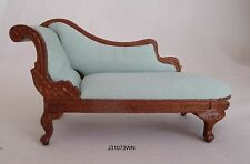 Miniature dollhouse 1:12 Rococo chaise lounge JBM highend quality #