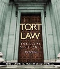 Tort Law for Legal Assitants (The West Legal Studies Series)