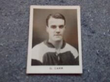 D.C.Thomson Footballers 1922/23  G.CARR (Middlesbrough)