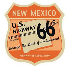 US Highway 66 Association   NM   Vintage Style  Travel Decal  New Mexico Sticker