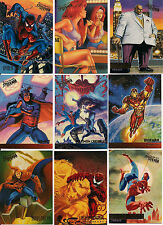 1995 MARVEL FLEER ULTRA SPIDER-MAN PREMEIRE COMPLETE 150 CARD SET nm/MINT