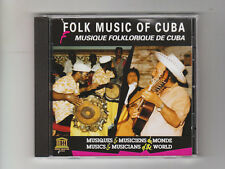 (CD) Folk Music of Cuba -1984-1989 [UNESCO COLLECTION/AUVIDIS] / France Import