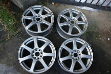 "JDM 17"" WORK Emotion XT7 oem wheels rims 17X7"" pcd114.3 X 4"