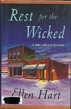 Jane Lawless Mysteries Ser.: Rest for the Wicked 20 by Ellen Hart (2012, Hard...