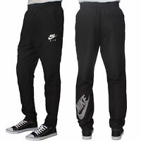 Mens New Nike Air Tracksuit Woven Cuffed Bottoms Joggers Track Pants Trousers