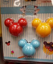 Disney Mickey Mouse Set 3 Cake Pop Moulds Family Bakery NEW GIFT HIGHEST QUALITY