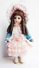 Franklin Mint Bebe Bru by Maryse Nicole Porcelain Doll with COA and Box