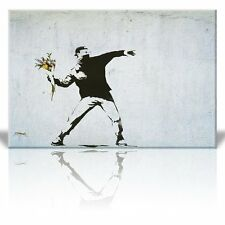 Wall26 Canvas Print Wall Art - Rage the flower thrower - 16 x 24 inches