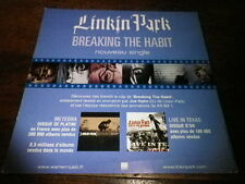 LINKIN PARK - Mini Plan média / Small Press kit !!! BREAKING THE HABIT !!!