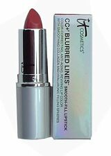 It Cosmetics Blurred Lines Smooth Fill Lipstick in Love, a nude pink shade