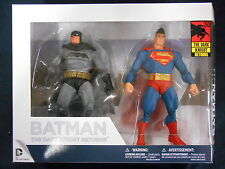 "El caballero oscuro regresa 30TH aniversario ""Batman y Superman"" Set Figuras De Acción"